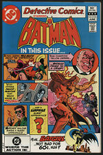 Detective Comics 515 NM Minus Bat-Girl back up story