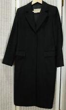 MAX MARA Vintage Women's Camel Hair Overcoat UK10/EU38 40 Inch Chest Black Coat