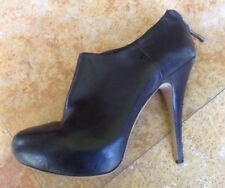 Vince Camuto Leather High Heel Ankle Booties, Black, 7.5 B