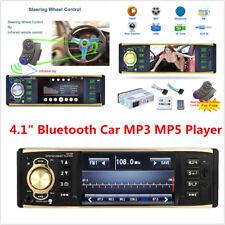 "New listing 4.1"" Hd 1 Din In-Dash Car Stereo Audio Bluetooth Mp3 Mp5 Player Radio Fm Aux Usb"