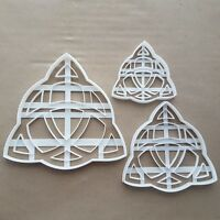 Triquetra Celtic Knot Shape Cookie Cutter Dough Biscuit Pastry Fondant Sharp