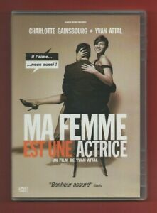 DVD - My Woman Est Une Actrice Avec Charlotte Gainsbourg Und Yvan Attal (132)