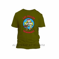 LOS POLLOS HERMANOS  T SHIRT BREAKING BAD HEISENBERG WALTER WHITE  T-SHIRT