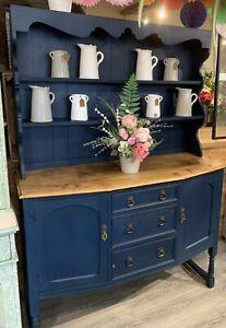Vintage Painted Dresser Buffet Sideboard