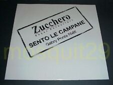 "ZUCCHERO ""SENTO LE CAMPANE GABRY PONTE RMX"" RARO 12"" MIX - MINT"