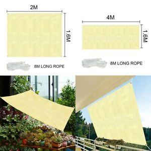 Anti-UV Shade Cloth Cover Garden Net Outdoor Shade Sunscreen Sunshade Kit