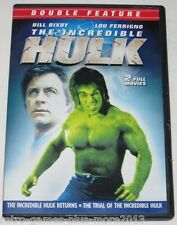 The Incredible Hulk Returns/The Trial of the Incredible Hulk (DVD, 2011) Used R1