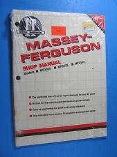 Iampt Shop Manual For Massey Ferguson Mf3505 Mf3525 Mf3545 New