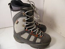NORTHWAVE FREEDOM SNOWBOARDING BOOTS Mens 8 Womens 9 Gray