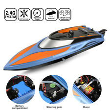 Toyabi Radio Remote Control Speed Boat RC Racing Watercraft RTR+2 Batteries UK