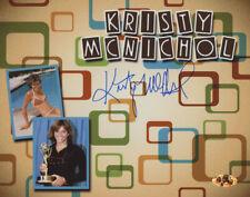 Kristy McNichol Signed Autographed 8x10 Photo MAB Hologram