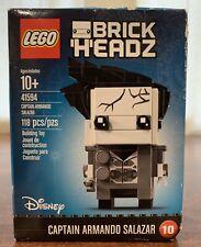 Lego Brickheadz 41594 Captain Armando Salazar Pirates Of Caribbean Set 10 Sealed