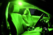 Holden Zafira TT 2001-2005 Bright Green LED Interior Light Coversion Kit