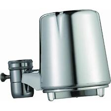 Culligan Chrome Faucet Mount Faucet Water Filter With 8 Filters FM-25 & FM-25R