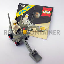 Set 100% Completo LEGO 6821 - Shovel Buggy - 1980 Space Classic Lotto KG