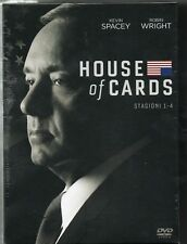 House of cards - stag. 1 - 4 - dvd - nuovo