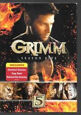 Universal GRIMM Season Five, NEW DVD SET