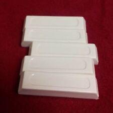 10 Alarm Magnets 3M adhesive Door Window White Plastic Security System