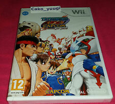 TATSUNOKO VS CAPCOM ULTIMATE ALL STARS NEUF NINTENDO WII VERSION 100% FRANCAISE