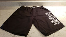 New Official Premier Fighter Black Fight Mma Shorts Velcro Fly Size 38 Ufc Fight