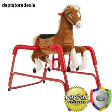 Horse Ride Toy Riding Spring Pony Kids Bouncy Ponycycle Flyer Up Baby Wonder Boy
