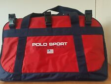 Ralph Lauren Polo Sport duffle bag red and blue