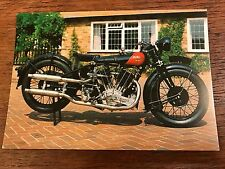 Vtg1928 Coventry Eagle Flying 8 1000cc National Motorcycle Museum Postcard (B)