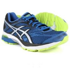 ASICS Gel-flux 4 Mens Blue Silver Black Course Running Trainers Size 10 Euro 45