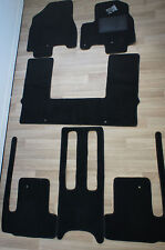 Kia Carnival Car Floor Mats Front Middle Rear Tailor Made Set: 02/2015 - ON
