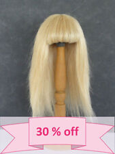 "30% Discount - DOLL WIG size 9.45"" (24 cm) - Very Straight Human Hair (BRAVOT)"