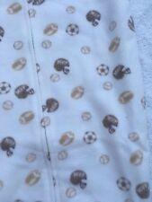 NWT Carter's newborn baby 0-9 months sleep sack blanket sleeper sports balls