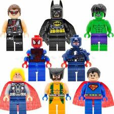 8Pcs Marvel Avengers Mini Figures Fit Lego Hulk Superman Thor Batman Spiderman