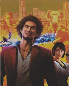 Yakuza Like a Dragon Steelbook PS4 Game