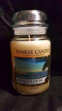 Ginger Dusk Yankee Candle large jar discontinued