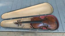Antique old vintage Violin Gabriel David Buchstetter 1762 Very Rare German
