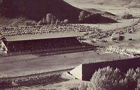 Vintage Old 1940's Photo of the Salinas California Rodeo Bullriding Horses Cars