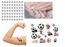 Foootball - Temporary Tattoo - Nail Art