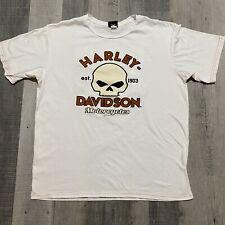 Harley Davidson Scottsdale Arizona Pin Up Golfing Cart Girl Motorcycle Biker Tee