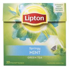 lipton green tea intense mint