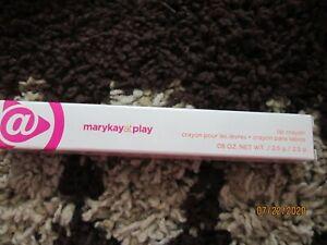 New Mary Kay At Play Lip Crayon Coral Me Crazy NIB DISCONTIUED ~~Ships FREE