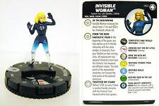 HeroClix - #002 Invisible Woman - Fantastic Four