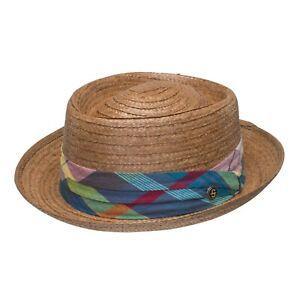 Stetson Madrigal Coconut Straw Pork Pie Hat
