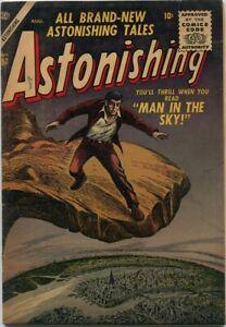 Astonishing #52 Atlas Comics 1956 VG+