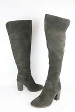Vince Camuto Melaya Over The Knee Gray Grey Boots Size 9