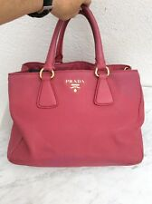 Authentique Sac Cabas Cuir Rose Prada