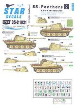 Star Decals 1/35 SS PANTHERS 9.SS HOHENSTAUFEN France & Belgium 1944-1945