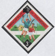 Irlanda-CLARE 4007 -1966 Tirano con coppa del mondo OPT U rovesciata/M