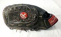 "Vintage Rawlings RBG21B Baseball Glove Mitt 13"" LHT"
