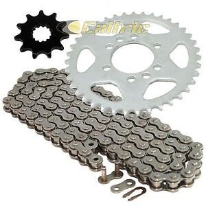 Drive Chain & Sprockets Kit for Suzuki LT-F160 Quadrunner 160 2X4 1991-2004