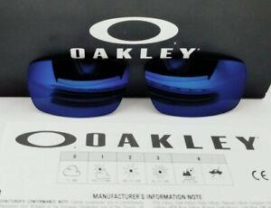 """OAKLEY replacement """"CRANKSHAFT"""" ice iridium LENSES for SUNGLASSES! NEW!"""